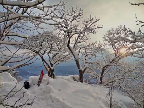 28.12.14 habe heute doch besser die Ski genommen...