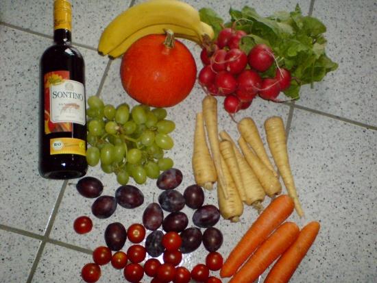 Supermarkteinkauf am 23.09.14