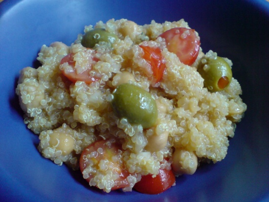 Quinoa-Kichererbsen-Salat