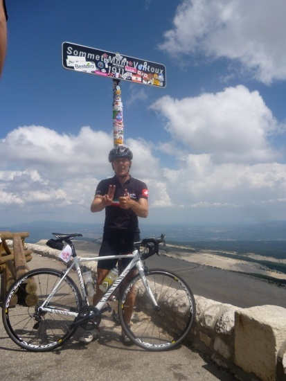 3x Ventoux am Tag