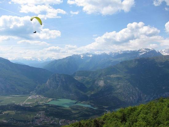 Aussicht am Anstieg zum Monte Bondone
