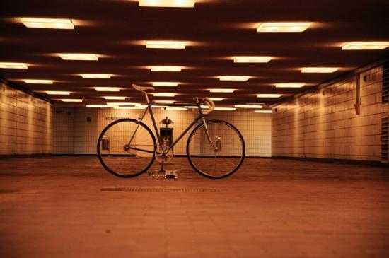 Wolfsburg Tunnel zum Tor 17