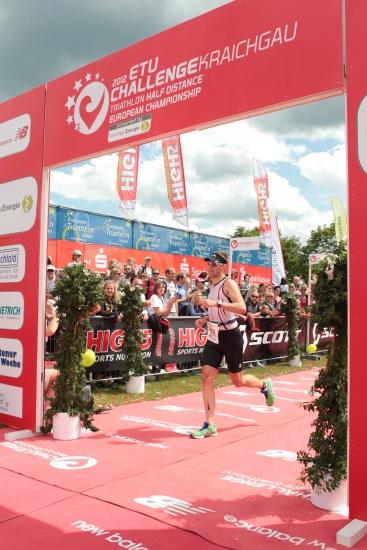 Challenge Kraichgau 2012, Zieleinlauf