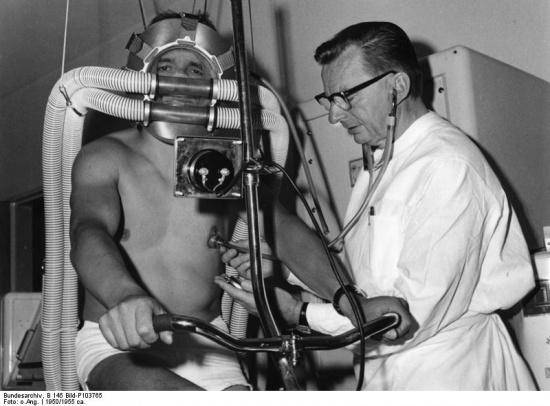 Nächste Leistungsdiagnose beim Arzt meines Vertrauens