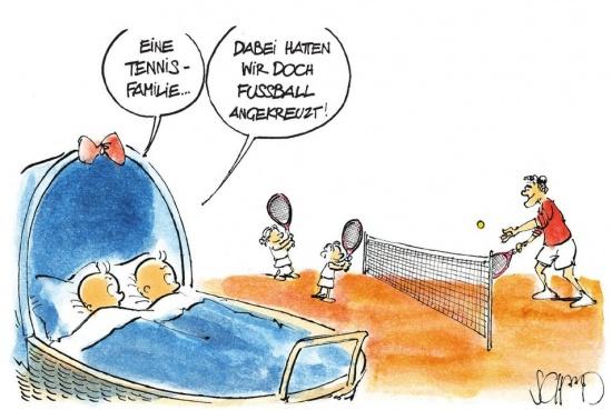 Roger Federer hat zum 2. Mal Zwillingsnachwuchs