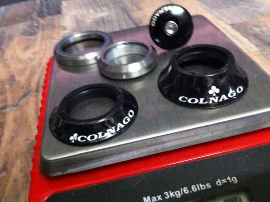 Colnago C59/PR99 Aufbau