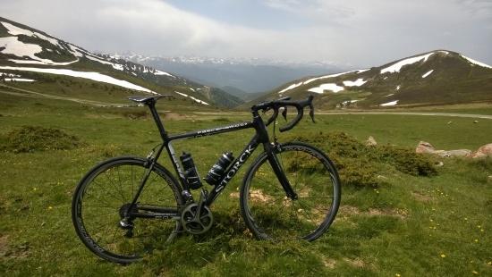 Letzter Blick Pyrenäen
