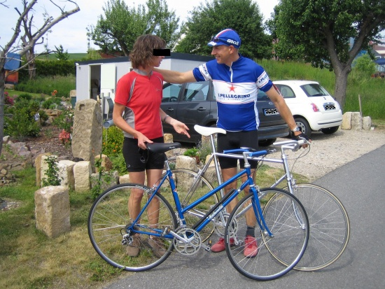 Paarlauf mit Milanetti