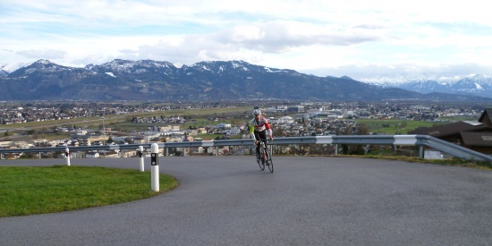 Erste Trainingsausfahrt in die Schweiz