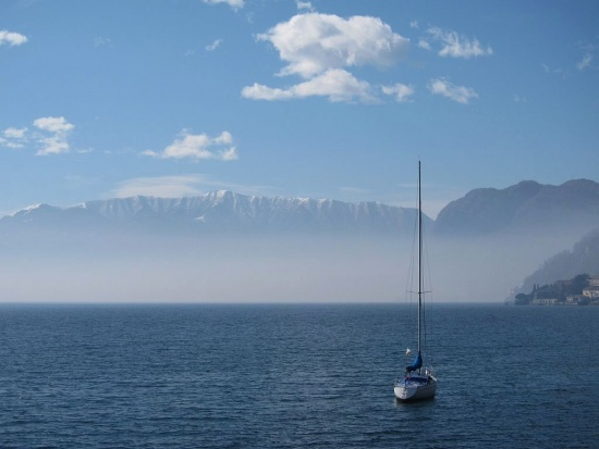 Lago di Como bei Rezzonico