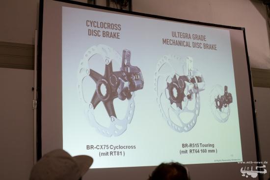 Shiamano BR CX75 und BR-R515