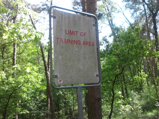 Limit Of Training Area