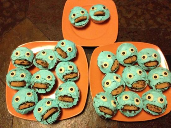 Monstermuffins zum 2. Geburtstag