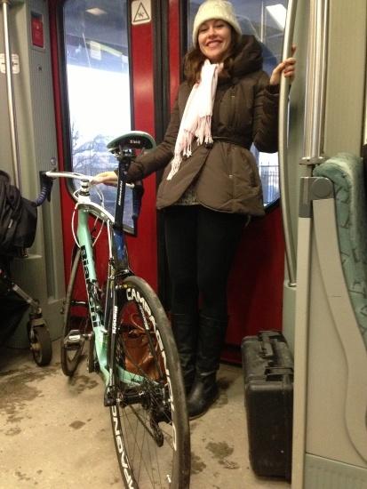 Umzug mit der S-Bahn