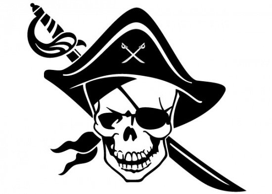 "one-eyed-pirate-skull = Geburtsstunde ""il pirata"""
