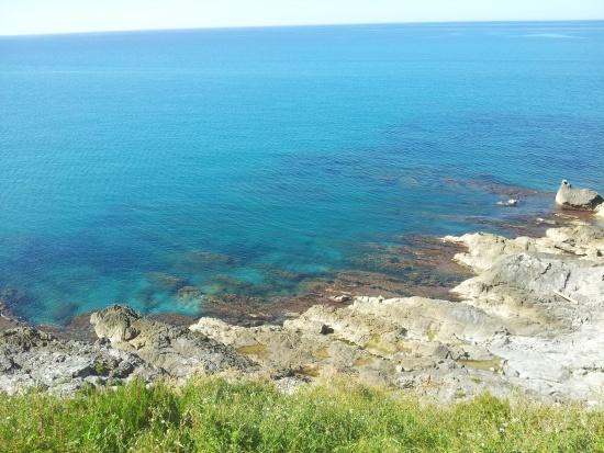 Blaues Meer bei Sizilien