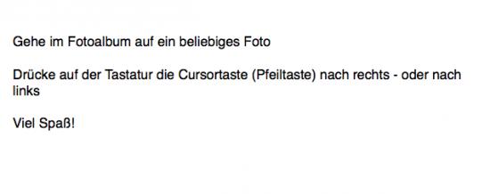"""Neu: Tastennavigation und Liken mit Pfeiltasten und """"L"""""""