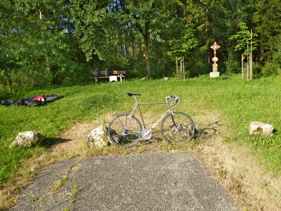 Schlafplatz bei Bad Abbach