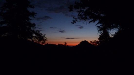 130907 Sonnenaufgang am Riederstein/Baumgartenschneid
