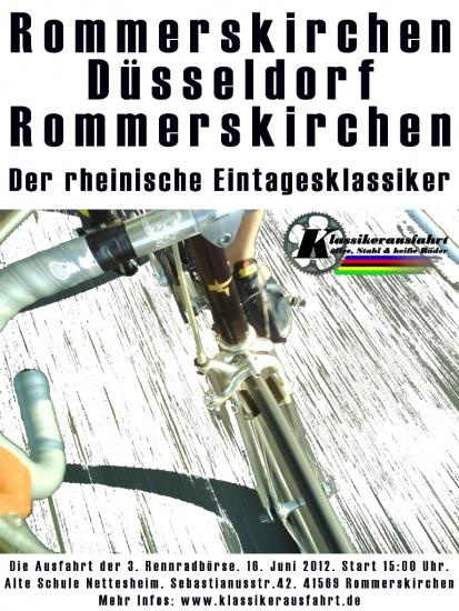 Die Rennradbörsenausfahrt