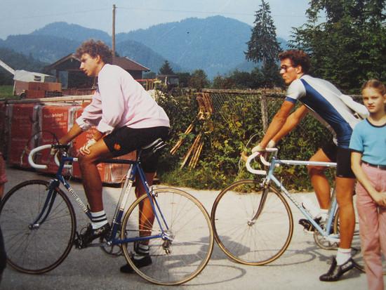 Start in der Jachenau beim Lainer 1984
