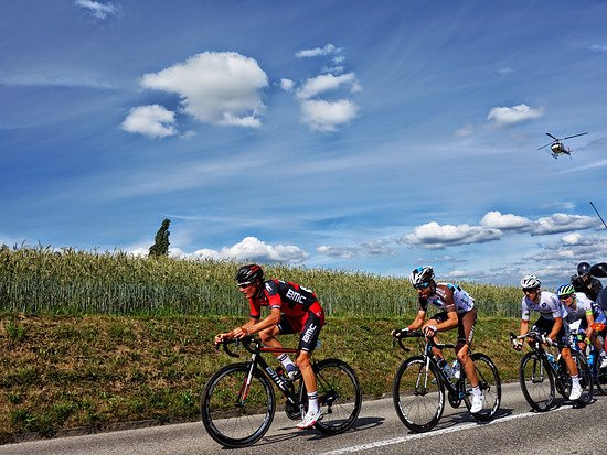 Tour de Suisse - Etappe 7 - An der Spitze