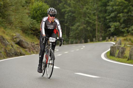 Alpenbrevet 2014 Abfahrt Susten Richtung Ziel Silberrunde