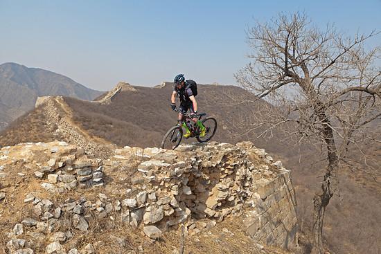 Guido auf der chinesischen Mauer.