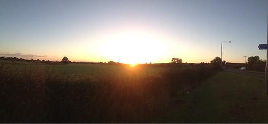 MdRzA - Herbstliche Morgensonne bei Tollerton, Notts.