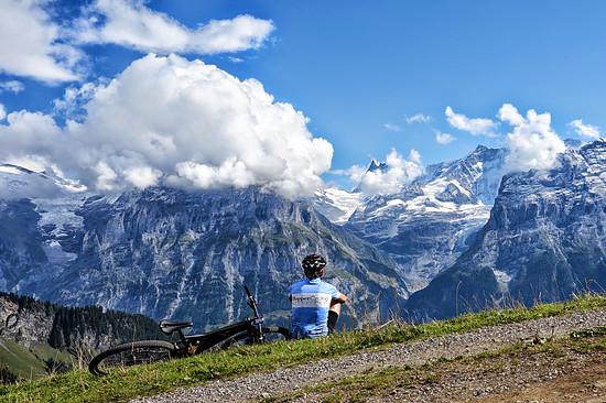 Oberhalb von Grindelwald