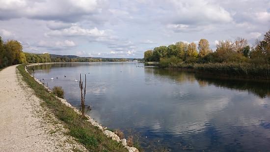 Stausee Lech/Donau