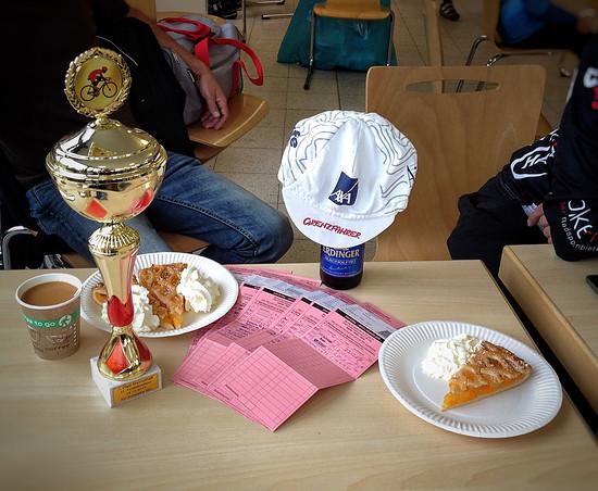 Grenzfahrer e.V.         Abschlußfahrt    1.Platz  Mannschaftswertung   18.10.2015    31. Findelkindtour  RV Schwalbe MG