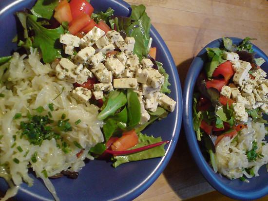 Immer nur Salat ;-)