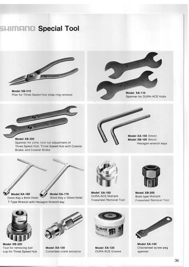 Shimano Werkzeug