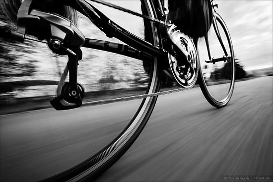 Speeding along...
