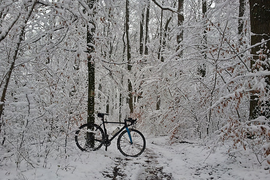 erste Schneeausfahrt:)