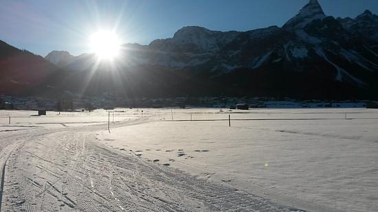 Skating Ehrwald