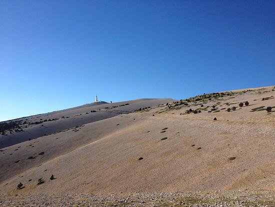Mont Ventoux am Nachmittag