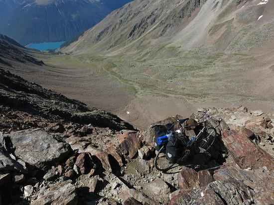 Abstieg Similaunhütte