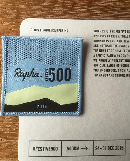 Rapha Festive 500