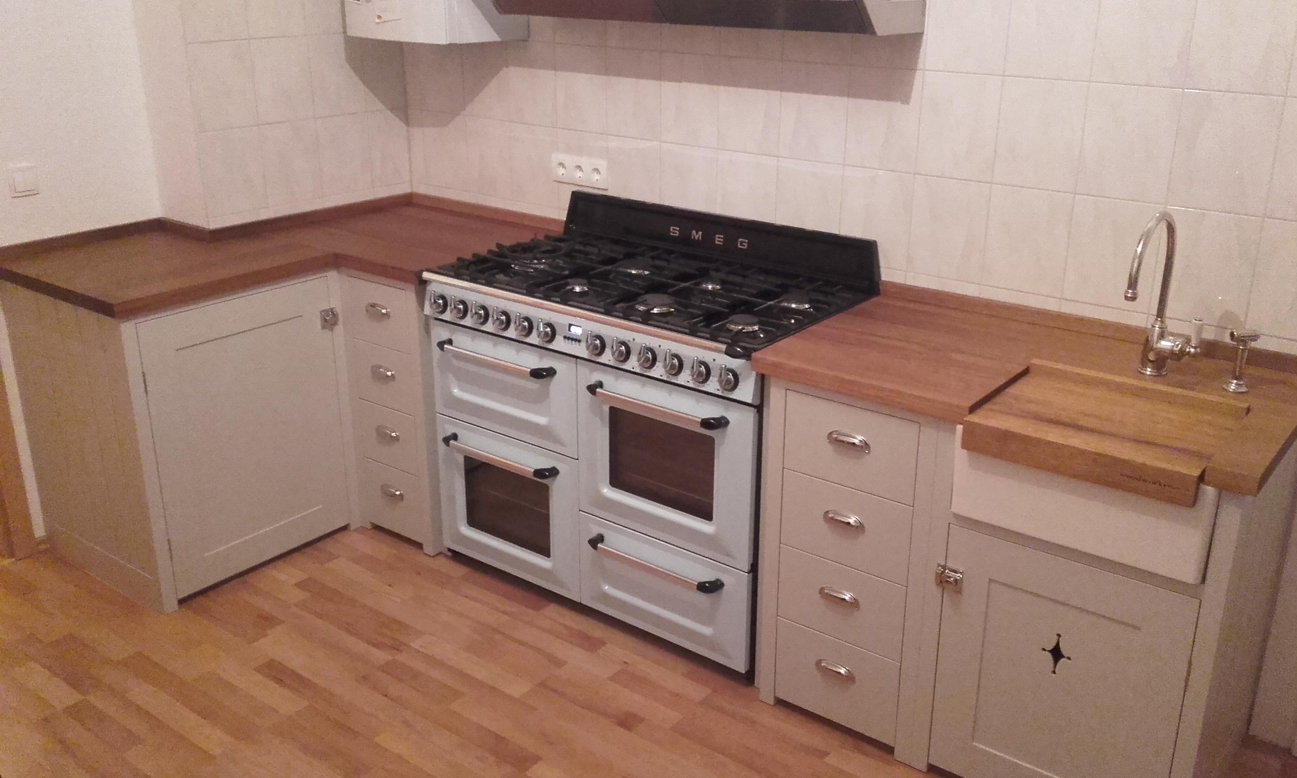 Foto: Küche - Shaker Stil - Rennrad-News.de