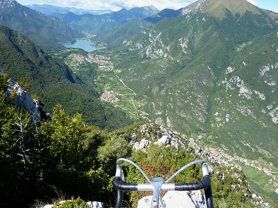 Ledrotal mit Ledrosee von Sentiero 430