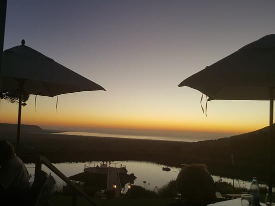 Sundowner in Cape Town