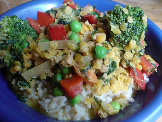 Reis mit Scheiß