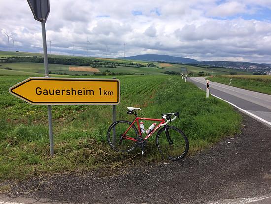 Gauersheim - wie das Schild auch unmißverständlich anzeigt!