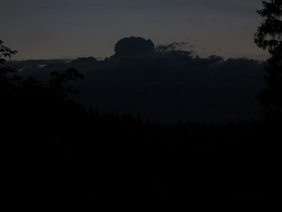 Wettersteinnacht 20 Stunden Regen 50l/qm