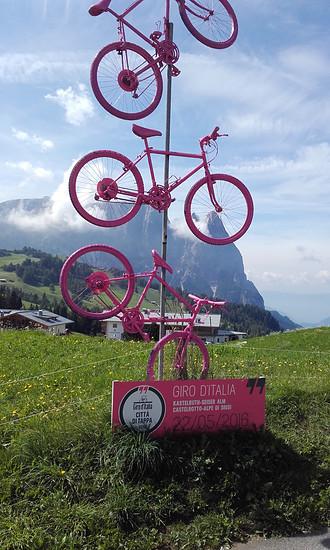 Giro'16 auf der Seiser Alm