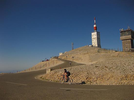 Mont Ventoux - Nordseite