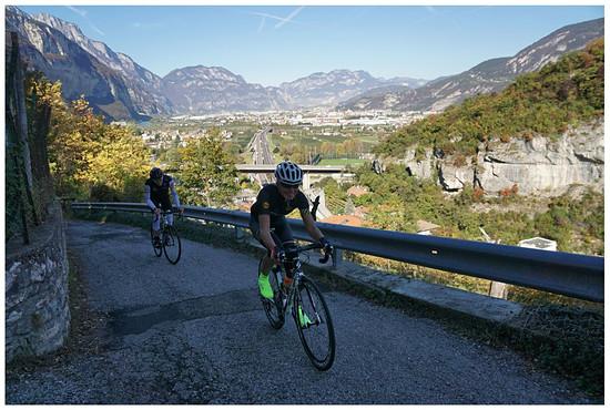 Monte Bondone Tour vom 29.10.2016