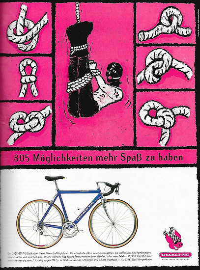 coole Checker Pig Werbung aus 1999
